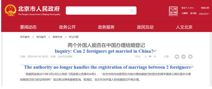 Q&A:Getting Married in China